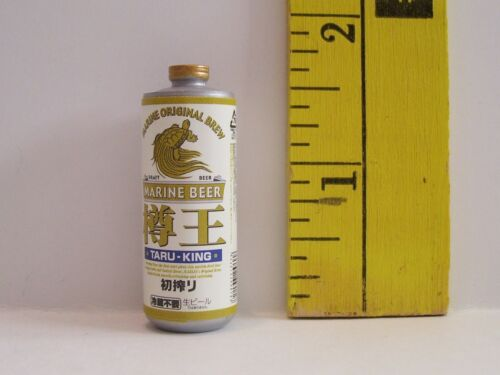 MINIATURE RETIRED RE-MENT CAN OF MARINE BEER FOOD FOR DOLLS 1//6 SCALE RETIRED