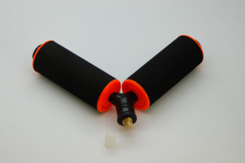 "4/"" Pole Roller Rest Fishing Tackle Rod Pole Holder Carp Coarse 10 cm"