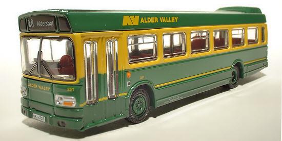 17215 Efe lungo Leyland Nazionale Mk 1 buss Alder Valle Sud Ltd 1 76 Pressofusio