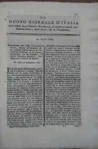 1784-NUOVO-GIORNALE-D-039-ITALIA-EPIDEMIA-BOVINA-A-CAVARZERE-E-PADOVA-SANITA-039