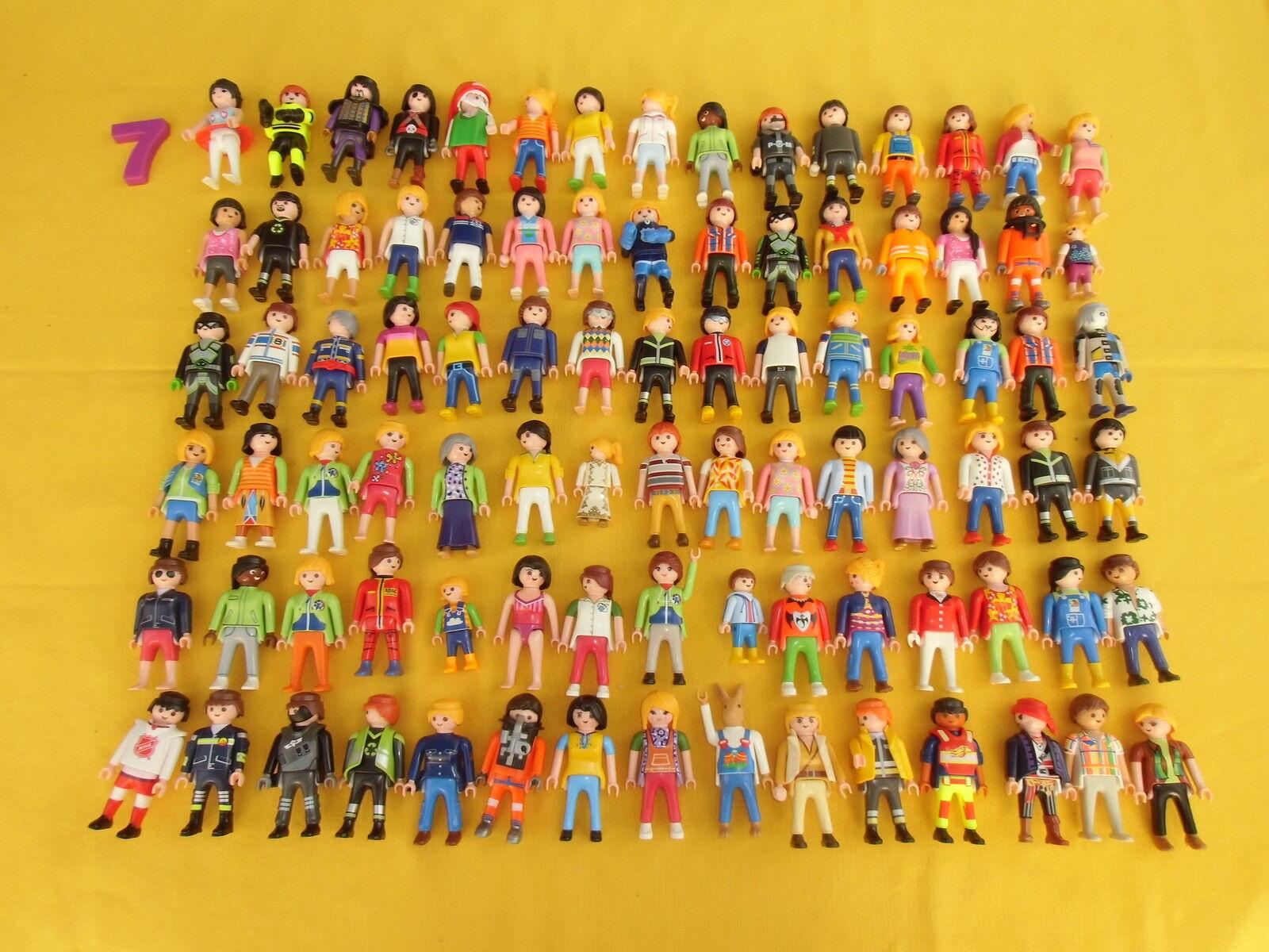 Playmobil cifraS, 90 cifraS VARIADAS, NOVEDAD, SIN  USAR, LOTE 7  vendita all'ingrosso