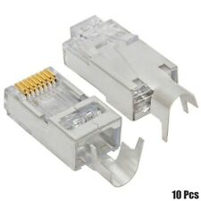 25SOLID+25STRANDED wire RJ45Crimp cable End modular connector for Cat5e Ethernet