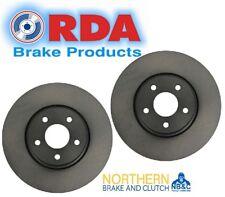 RDA FRONT DISC BRAKE ROTORS for Jeep Grand Cherokee WK 6.4L V8 SRT 3//2011 on