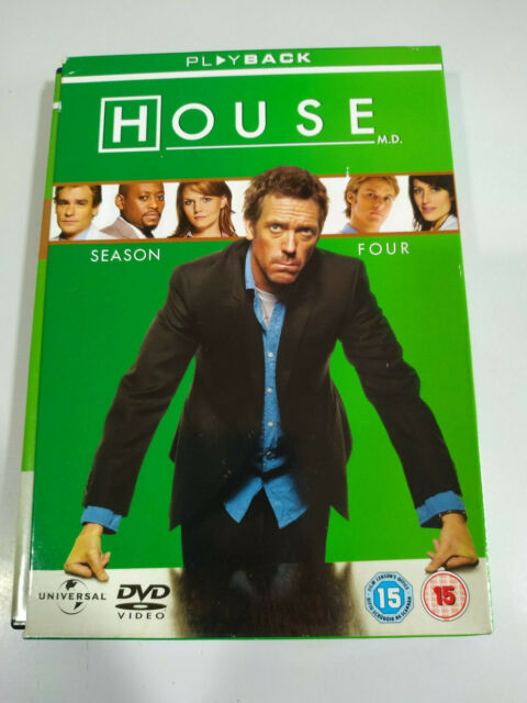 House Md Complete Season Four - 4 X DVD Inglese Regione 2-4-5