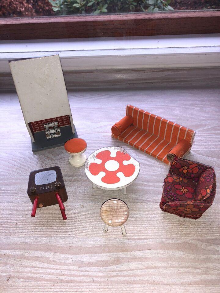 Dukkehus-møbler