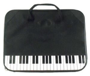 Piano-Keys-Albert-Elovitz-Zippered-Portfolio-Music-themed-Soft-Briefcase