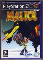 PS2 Malice (2004) UK Pal, Brand New & Sony Factory Sealed