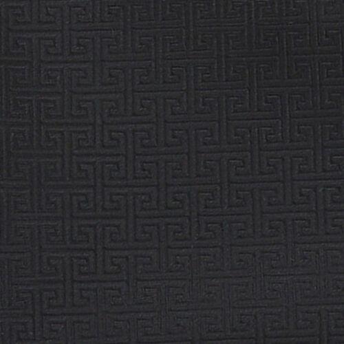DQT Tissé grec clé à Motifs Noir formelle de mariage pour Homme Classique Cravate