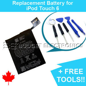 iPod-Touch-6-6th-Gen-A1574-Replacement-Battery-020-00425-1043mAh-FREE-TOOLS
