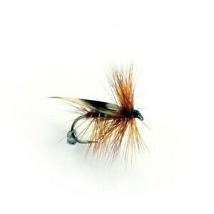 BANN VALLEY QUALITY TROUT FLIES SEDGES CADDIS DRY RIVERS AND LAKE FISHING X3