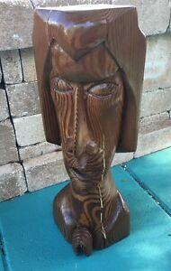 Wooden-Sculpture-Mid-Modern-New-York-Alberto-Juliano-Signed-amp-Dated-Never-Seen