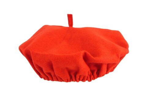 Sombrero Gorra plana unisex francés /& Garland Elaborado Vestido Fiesta Disfraz Talla Única