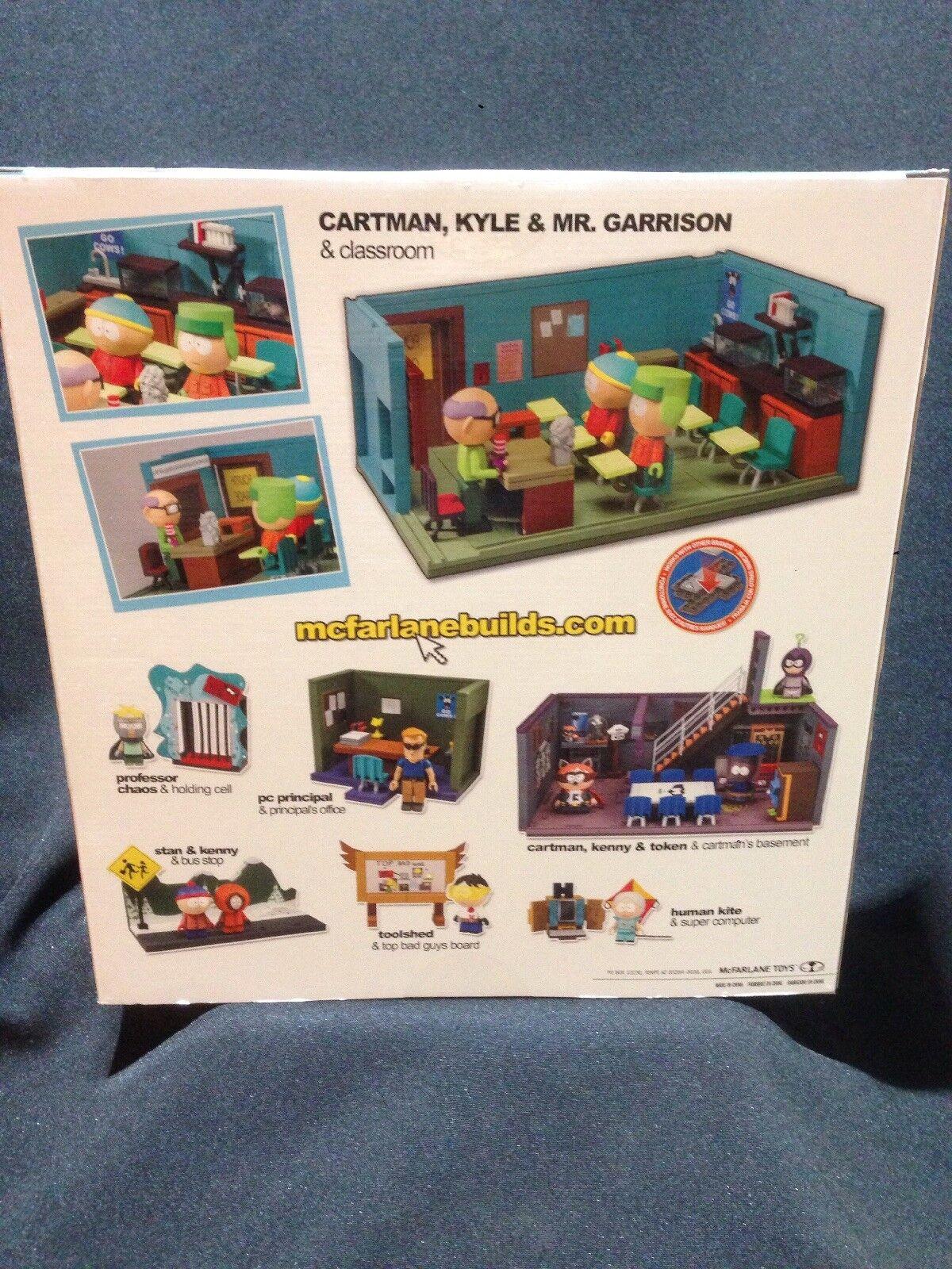 NIB McFarlane Toys South Park Classroom Large Construction Set CARTMAN CARTMAN CARTMAN KYLE 259p 9d7efb