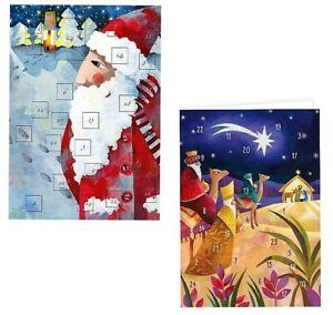 *AURÉLIE BLANZ*Weihnachten*Adventskalender*Winterland*aufklappbar*30x 41cm