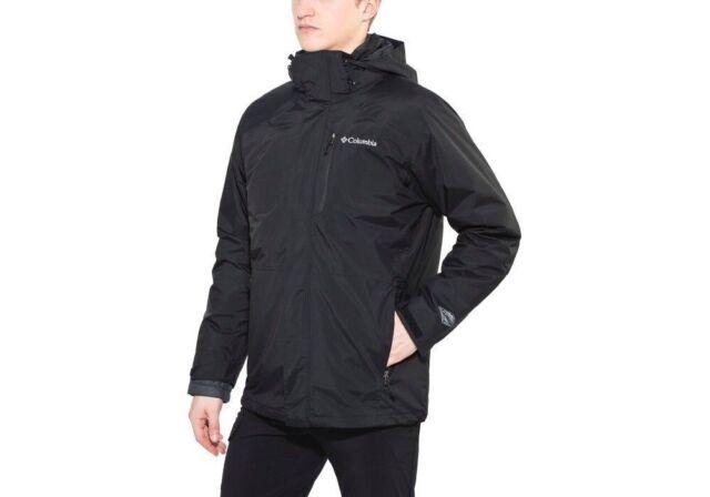 8d02768c8 Columbia Men's Element Blocker Interchange Black 3 In 1 Jacket Size Small  Size