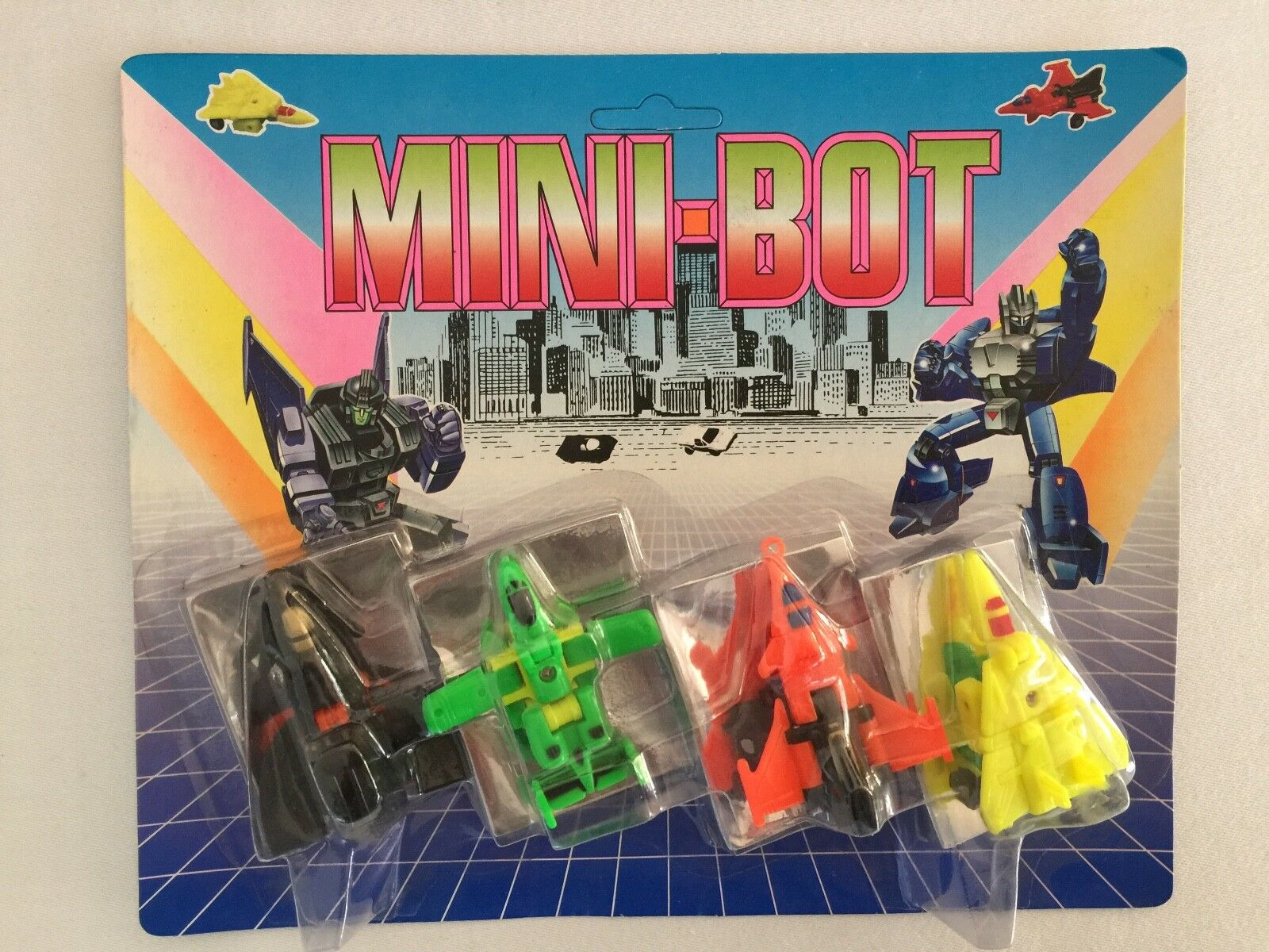 Transformers AIR STRIKE PATROL micromaster colours MOSC taiwan MINIBOT