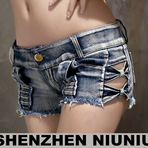 bc0fa038c Hot Sexy Women Girl Mini Jeans Shorts Pants Trousers Denim Low Waist ...