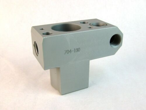 Titan 704-180 or 704180 Pump Block Manifold also Wagner