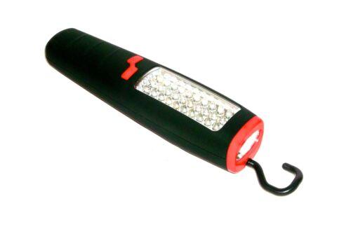 30+7 LED Taschenlampe Arbeitsleuchte Arbeitslampe Werkstattlampe Lampe Stablampe