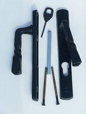 BLACK CAST IRON HEAVY DUTY maniglie per porte UPVC/Alluminio