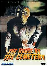 HOUSE BY THE CEMETERY - DVD - Region 1 - Sealed