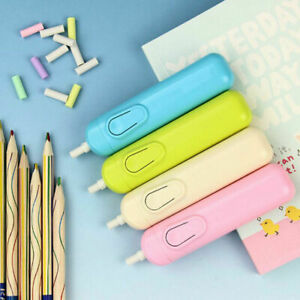 Blue-Pink-Electric-Eraser-With-30-Replacement-Refills-Battery-Operated-Rubber