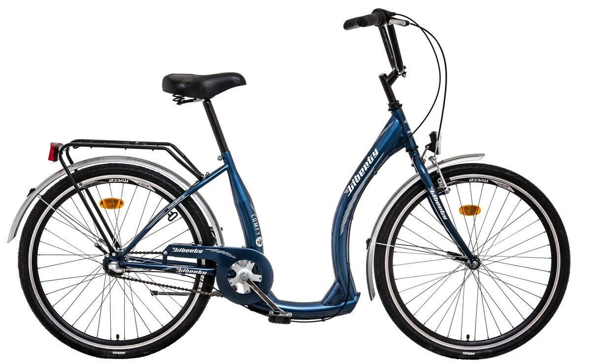NEU* TIEFEINSTIEG 26 ZOLL CITY Bike LIBERTY COMFY, Stahl