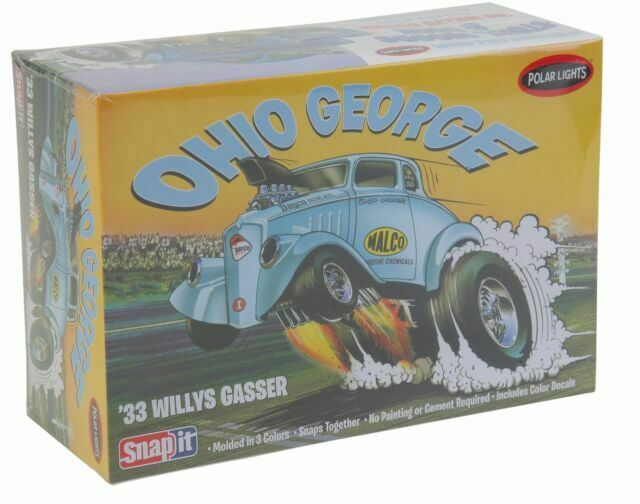 Neu AMT//MPC 890-1//32 1933 Willys Coupe Ohio George