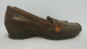 MERRELL-EDEN-MOC-Multi-Brown-Wedge-Heel-Casual-Slip-On-Shoes-Women-039-s-Size-7-5
