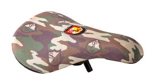 S&M BIKES SLIM SHIELD WRAP CAMO PIVOTAL BMX SEAT BIKES camouflage