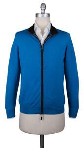 Neu Svevo Parma Blau Pullover - Reißverschluss - Xs/46 - (6709AI14MP062649S)
