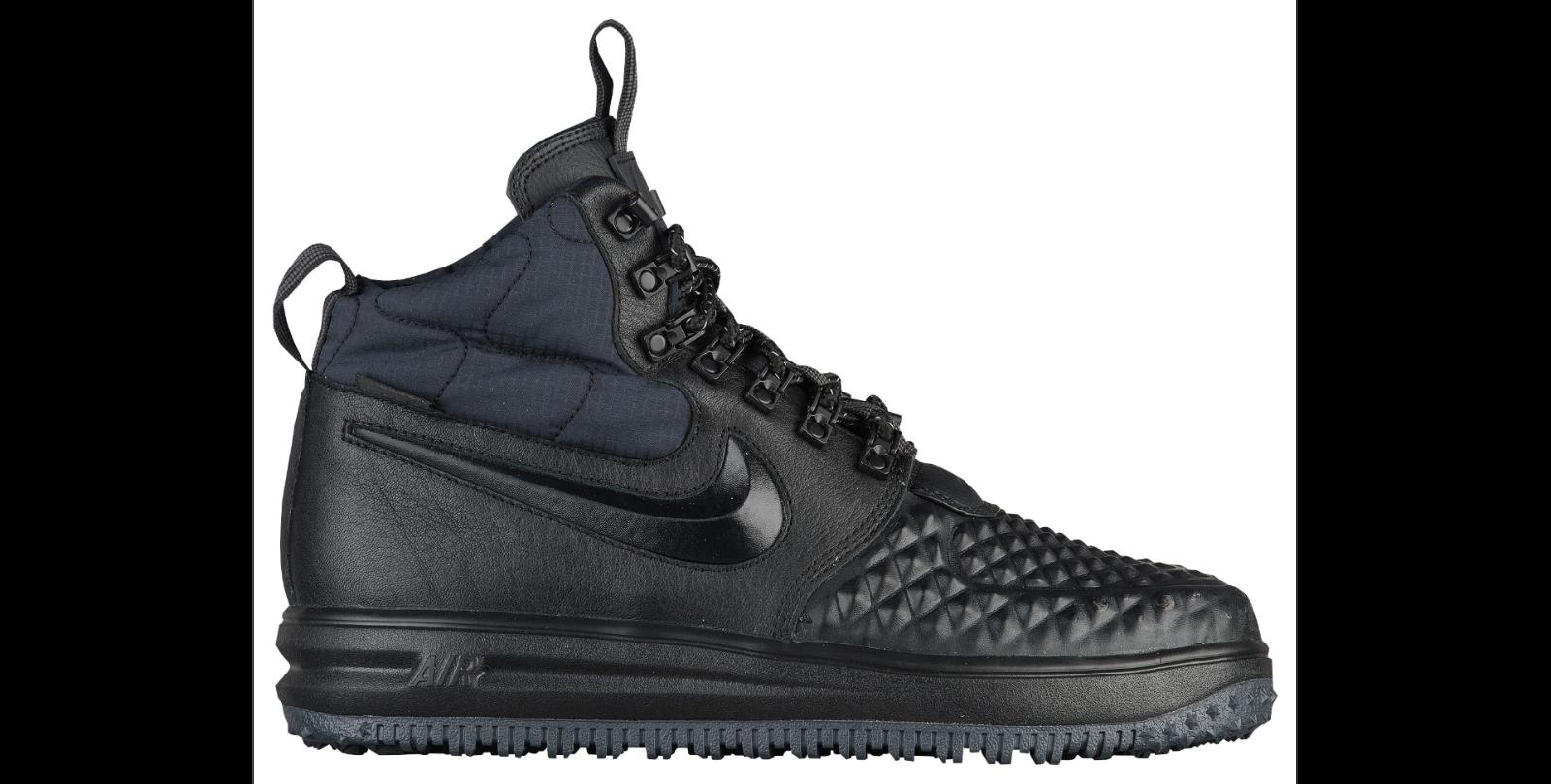Nike Lunar Force 1 Duckboot 2018 Black Black Anthracite Mens