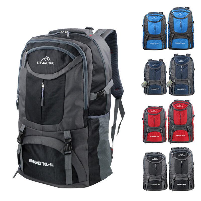 65L/75L exterior Backpack Waterproof  Shoulder Hiking Bag Camping Trave... - s l1600