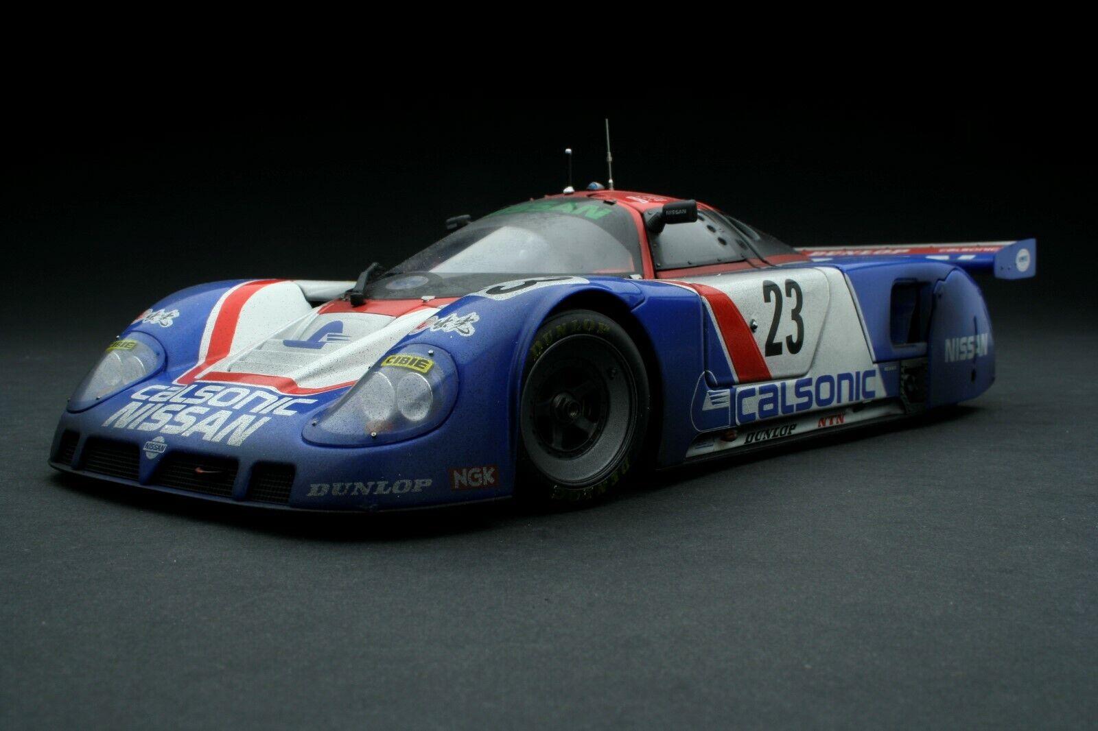 Exoto 1 18 Carrera Capeado 1989 Calsonic Nissan R89c Le Mans Rlg88102flp