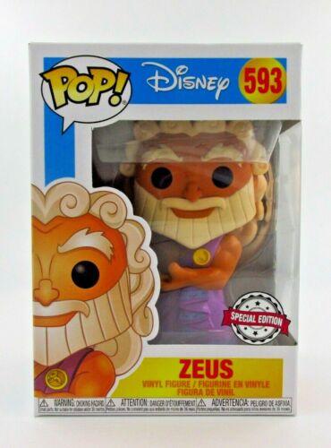 POP Funko Hercules 593 Zeus with Cloud Pegasus Special Edition
