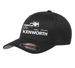 973e7def319aa Image is loading Kenworth-W900-Semi-Truck-Classic-Outline-Design-Hat-
