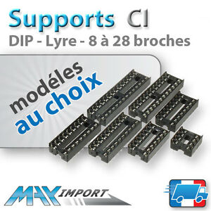 Support-circuit-integre-Dip-Lyre-Lots-multiples-prix-degressif