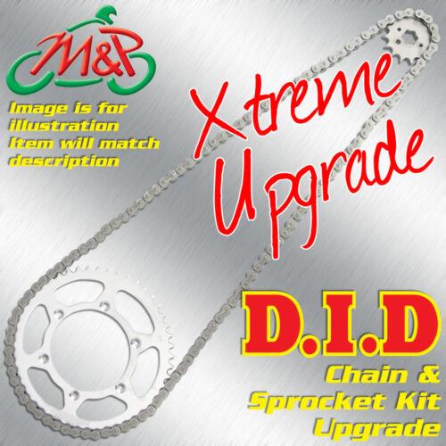 Kawasaki ZX636 Ninja ZX-6R 2005 Extreme Upgrade DID Chain and Sprocket Kit