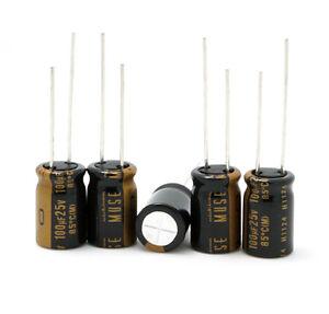 Nichicon UKZ1E101MPM MUSE KZ For Audio Hi-Fi 100uF 25V 85°C10x16 RM5 #BP 20 pcs