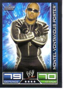 WWE Slam Attax Evolution MVP Raw Card