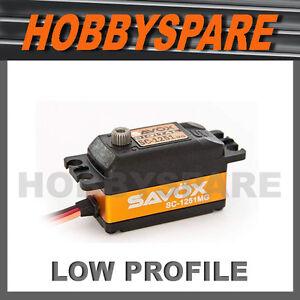 SAVOX-LOW-PROFILE-HIGH-SPEED-DIGITAL-SERVO-METAL-GEAR-1-10-RC-AILERON-STEERING