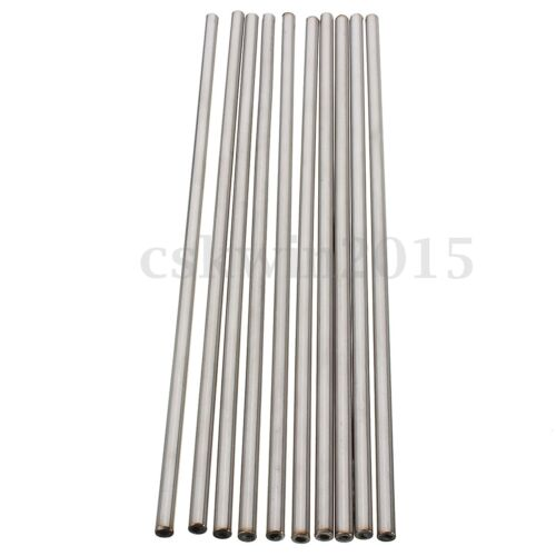 Stainless Seamless Steel Capillary Round Tube Wall OD 5x3mm//3x1mm Length 250mm