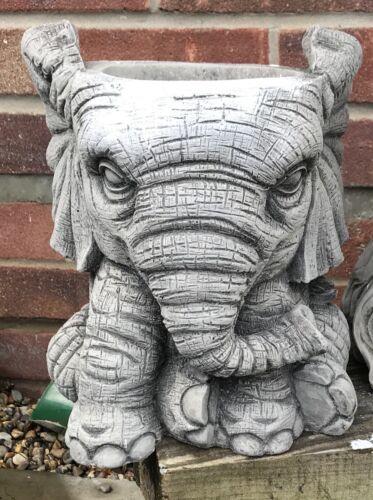 Molde de látex para realizar esta impresionante Grande Lindo Elefante Maceta Soporte