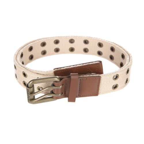 Converse Faux Leather Belt White
