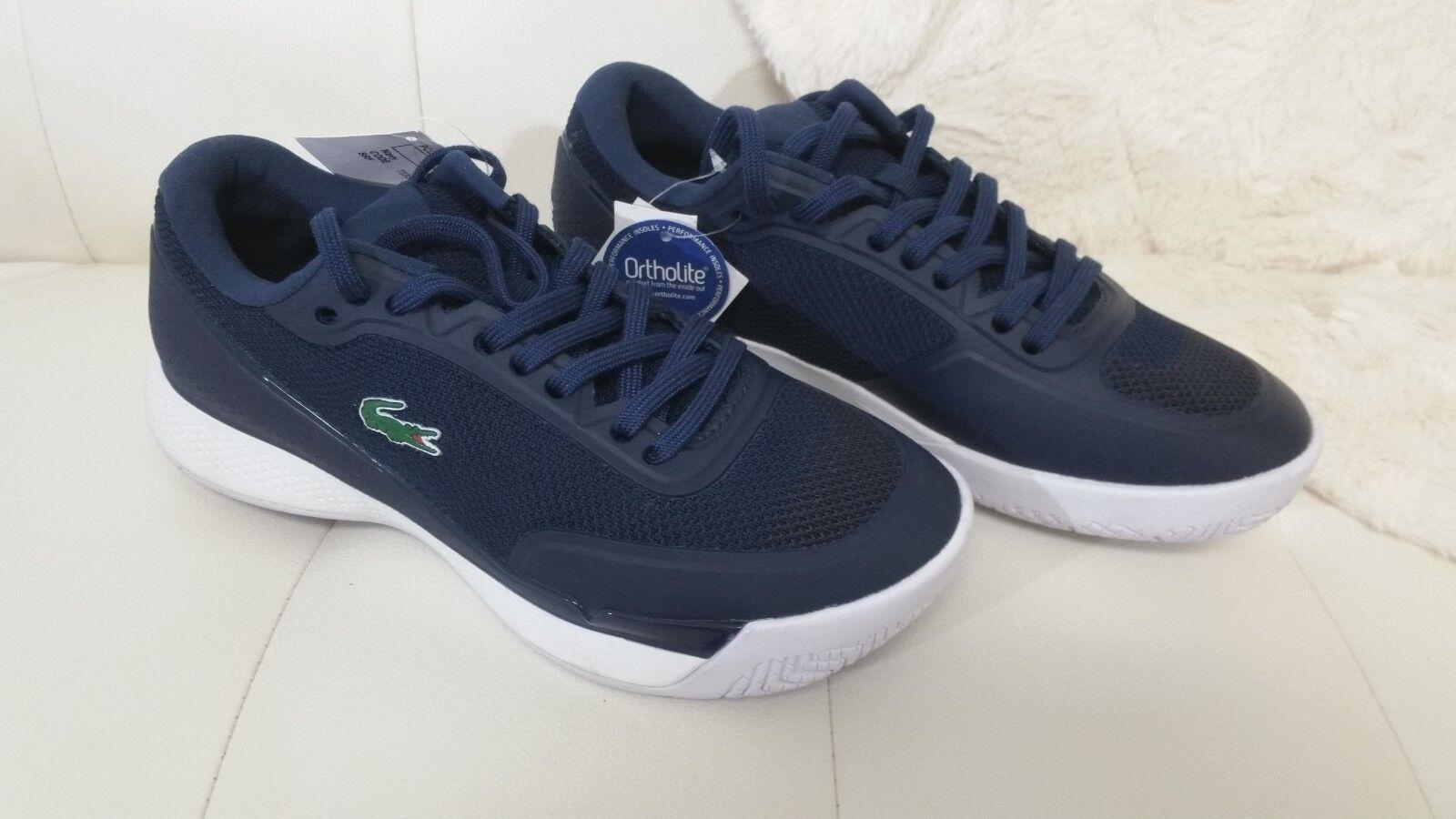 Lacoste Sport Light Pro 117 1 SPW Zapatos Zapatillas zapatillas Sin Caja Nuevo Mujeres 5 Azul Marino