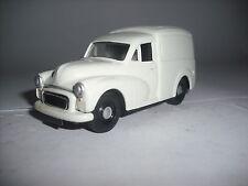 Corgi Morris Minor Van snowberry white