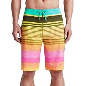 0965dc4b73 Image is loading NWT-Hurley-Men-039-s-Phantom-Clemente-Boardshorts-