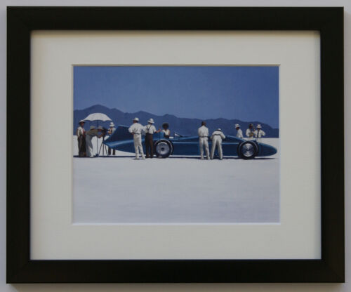 Jack Vettriano /'Bluebird at Bonneville/' Framed or Mounted Art Print NEW Keats