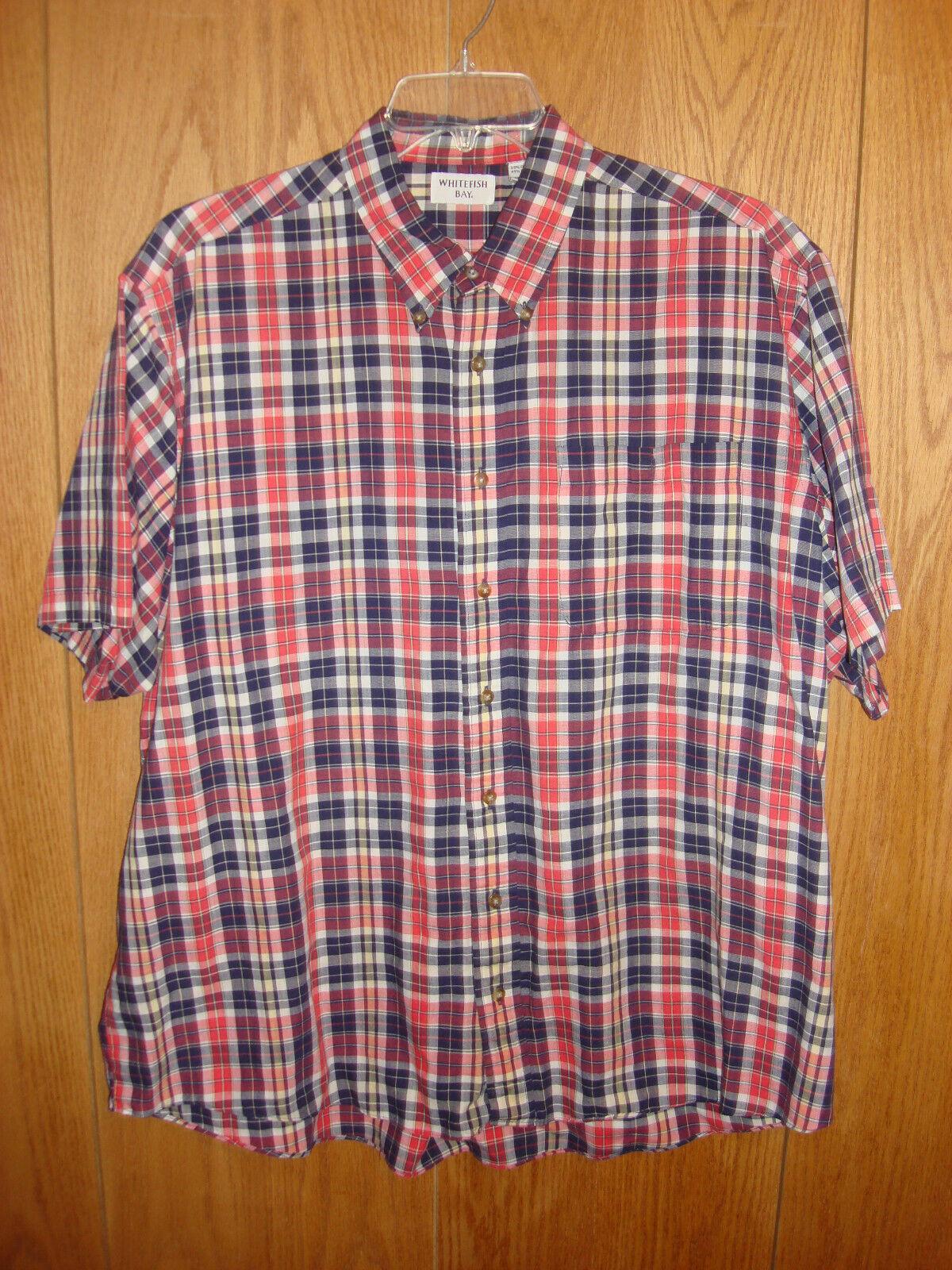Men/'s Flannel Shirt Button Down Long Sleeve Marino Bay Shirt 100/% Cotton NEW .