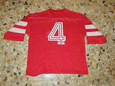 Maillot trikot shirt porté worn match  SUISSE SWITZERLAND DELEMONT ? 1986 ( 3 )
